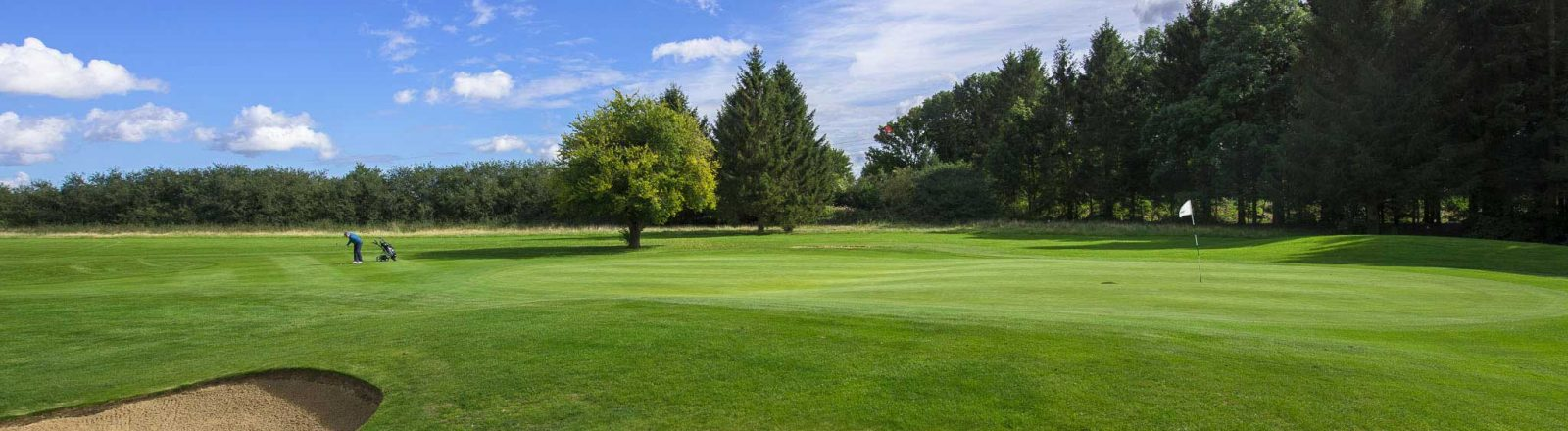 Redbourn Golf Club wide course view