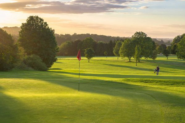 Redbourn Golf Club evening shot